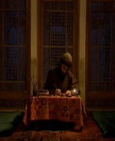 Sufi writing letters