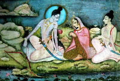 Kishangarh Miniature Painting