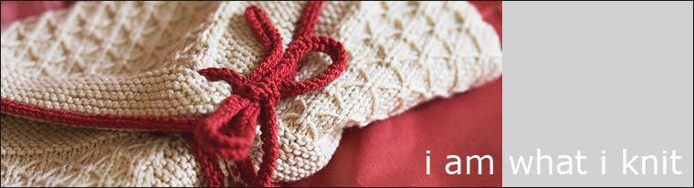i am what i knit