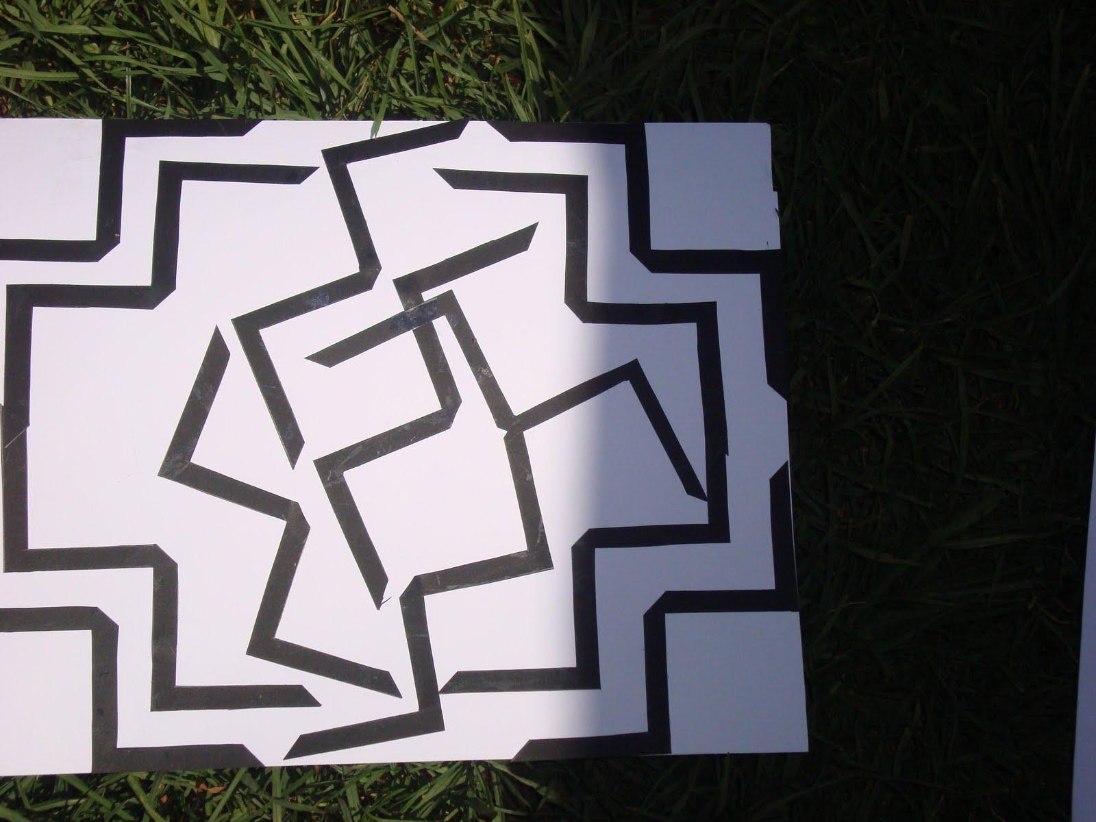 Liz tena composicion de 20 lineas quebradas y 20 lineas - Composiciones de fotos ...