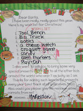 Harrison's Wish List