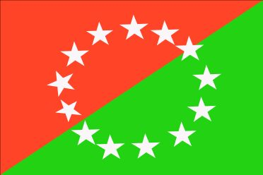 las 8 provincias de la bandera:
