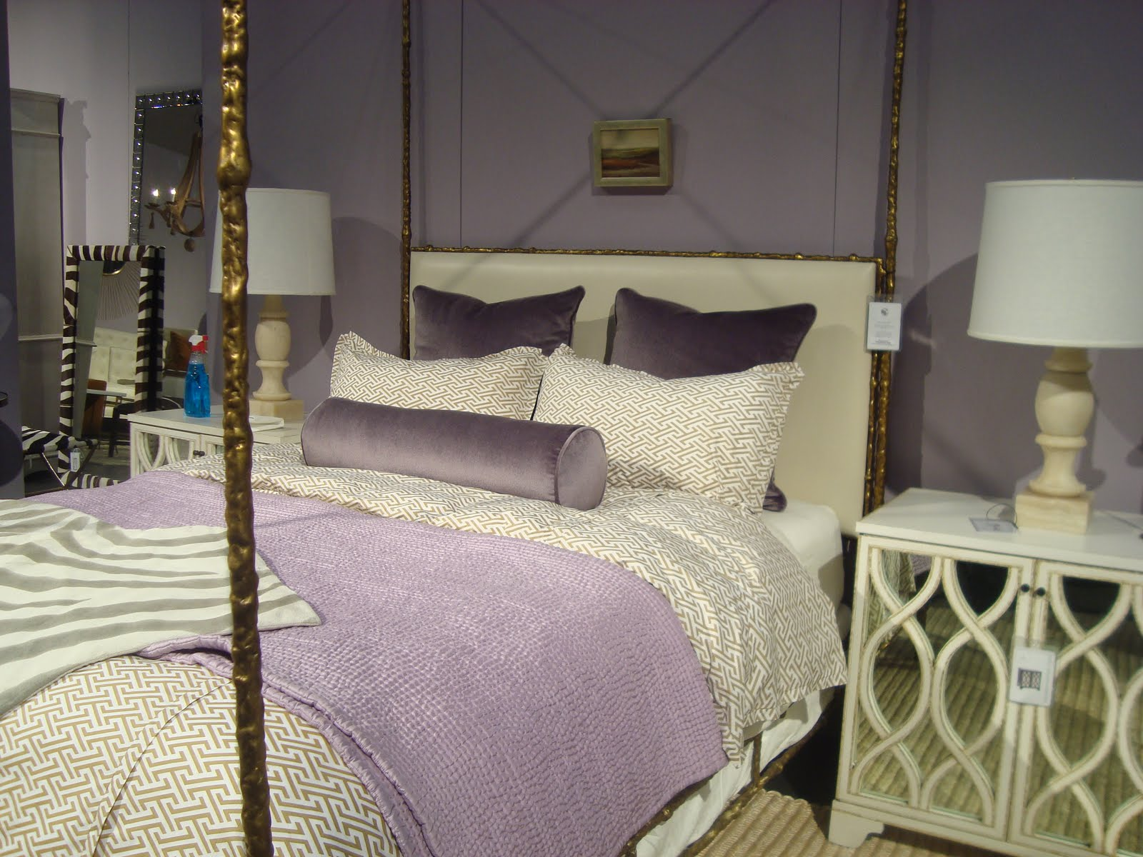 ... new color trend as seen in bedding and accessories from oly studio