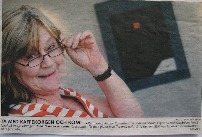 Utställning på Räfsnäs i maj 2006