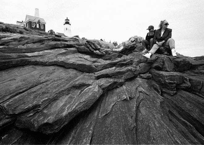 Nancy & Jay at Pemequid Lighthouse, Maine
