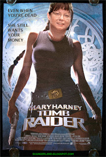 Mary Harney Tomb Raider - even your taxes can't save you now