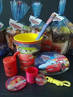 Have A Winning Party With Lightning McQueen And His Speedy Pals Give The Boys Bag Of Cool Disney Car Favors Before They Race Off