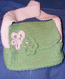 Crochet Baby Diaper Bag Patterns :  FREE CROCHET DIAPER BAG