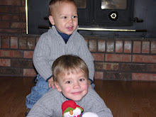 My sweet little boys!