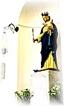 Our Lady's Statue Llanarth Chapel