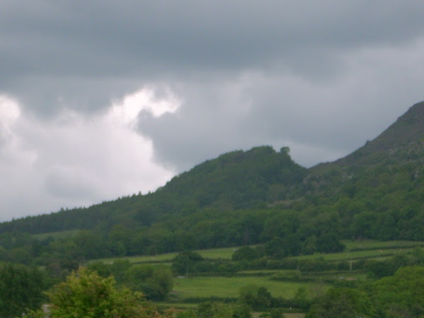 The Skirrid before a storm