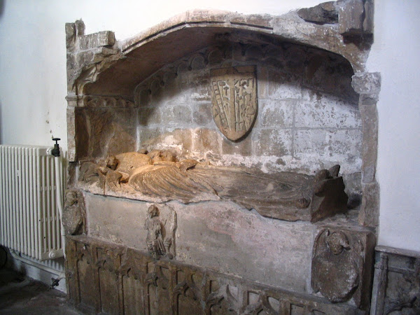 Tomb of St Dyfrig of Caerleon