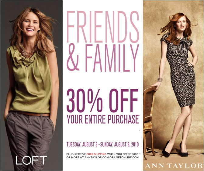 image relating to Anne Taylor Printable Coupons identified as Ãœber Stylish for Low-cost: Ann Taylor + LOFT: Buddies + Household