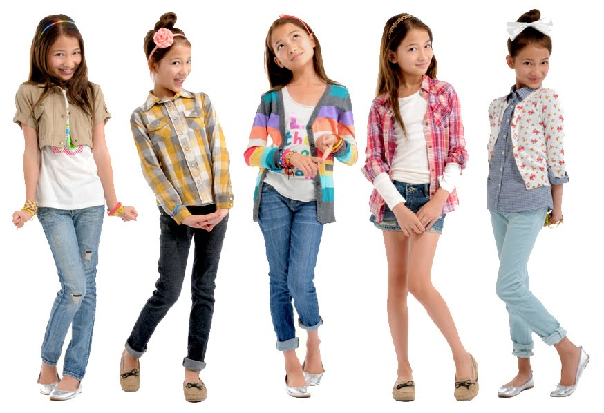 how do children's clothes sizes work
