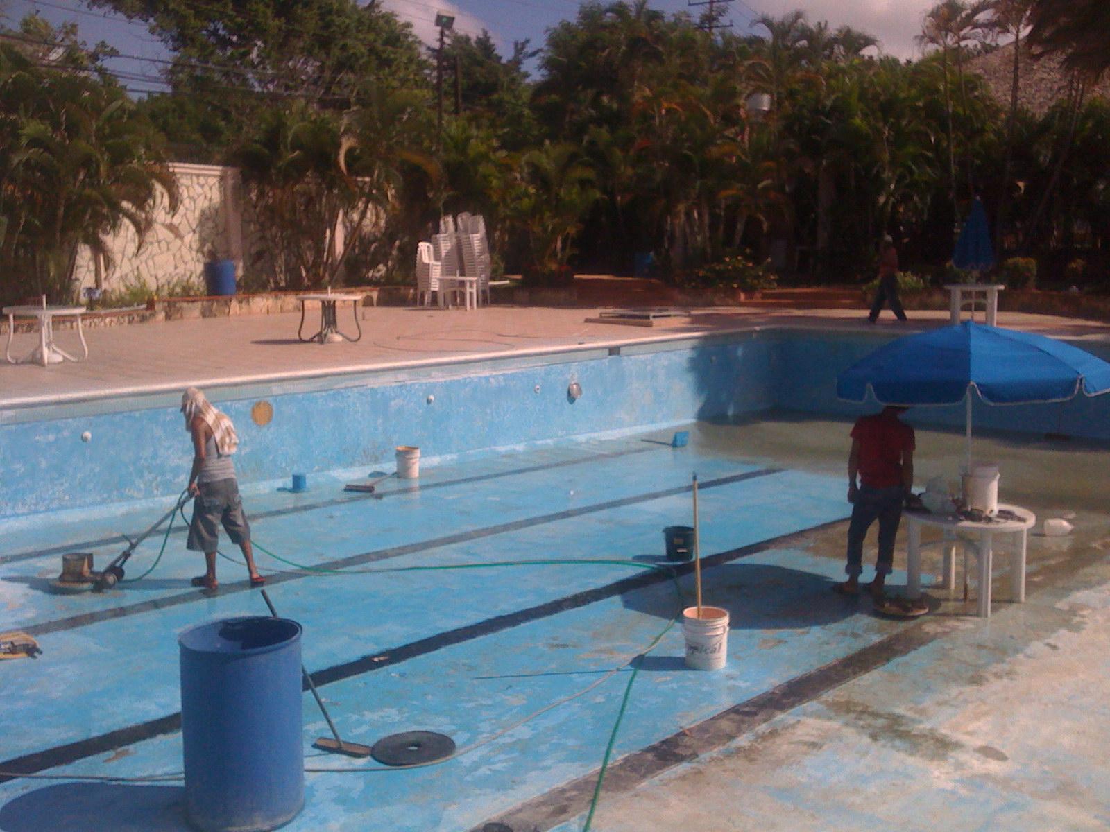 Club de la corporaci n dominicana de empresas el ctricas for Arreglar piscina
