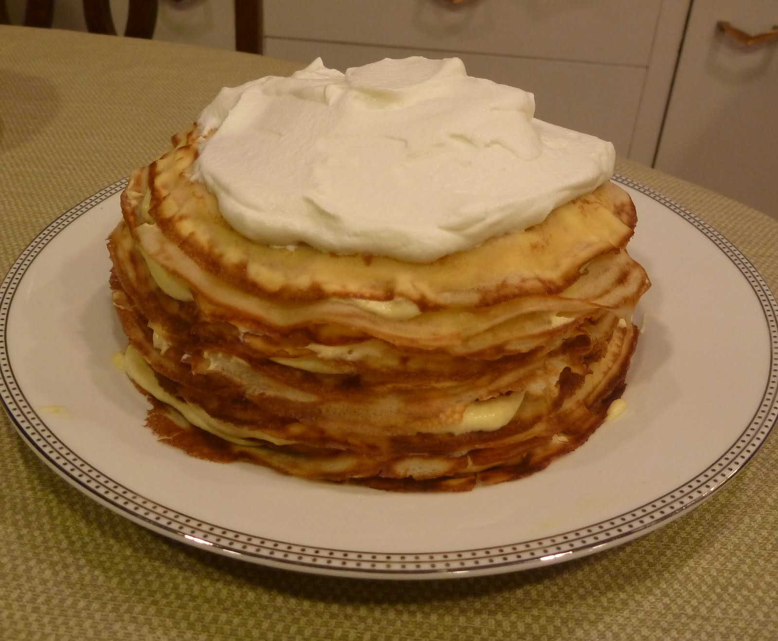 Mandy's Baking Adventures: Meyer Lemon Crepe Cake