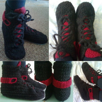 Free Crochet Pattern For Mukluk Boots | European Travels in Typography