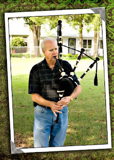 CC Photography by Betty Gray learns about bagpipes