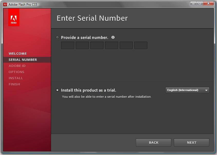 adobe flash cs5 serial key