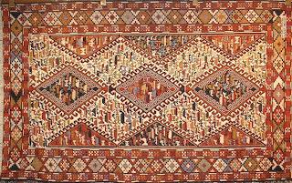 Entornos turqu a y sus huellas turqu a kilims y - Alfombras dibujos geometricos ...