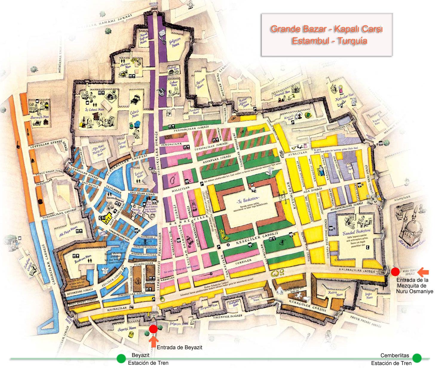 entornos / Turquía y sus huellas: Gran Bazar,… mercado
