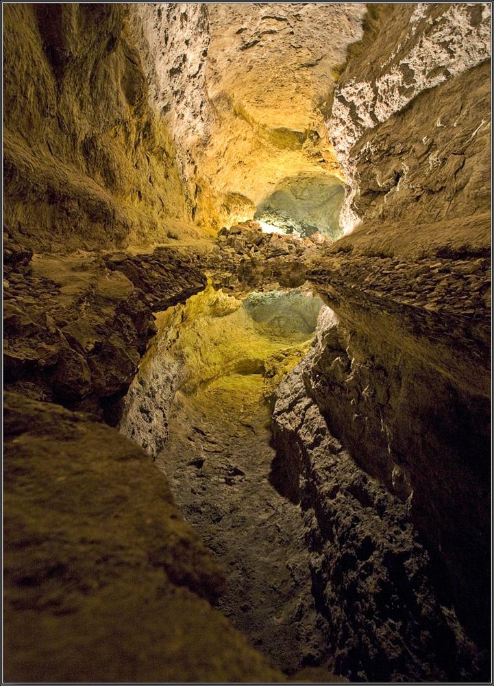 Lanzarote, ... la isla de los volcanes: Cueva de los Verdes