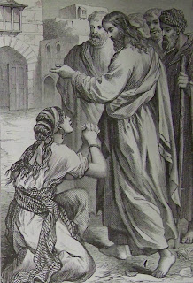 The Syrophoenician woman, image courtesy of The Bible Revival