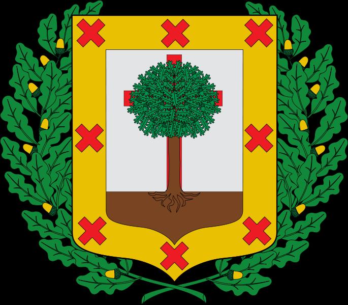 The emblem of Bizkaia