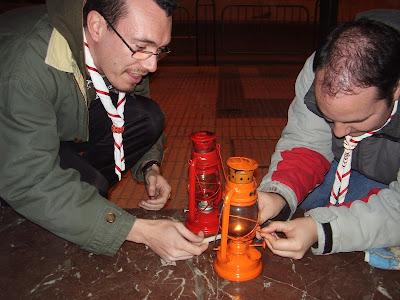 Recogiendo la Luz en Palencia