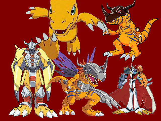 digimon evolution agumon - photo #38