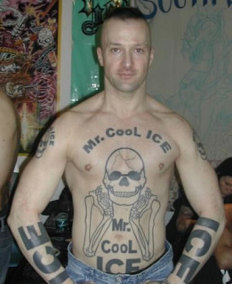 Mr. Cool Ice tattoos, terrible tattoos