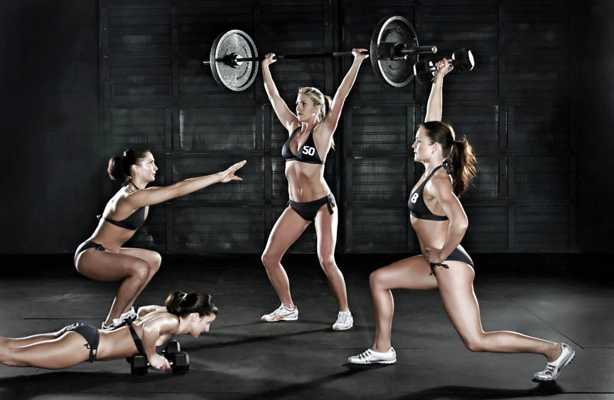 hottest crossfit women. Who cares: hot women do