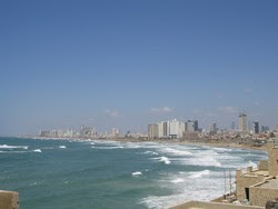 Tel Aviv, along the shore
