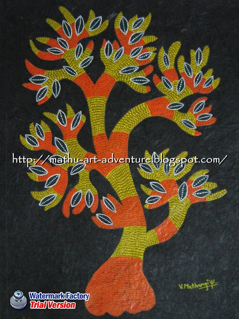 Traditional Indian Paintings Gond Painting