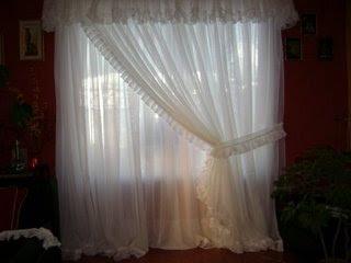 Cortinas y m s cortina romantica ii Cortinas romanticas