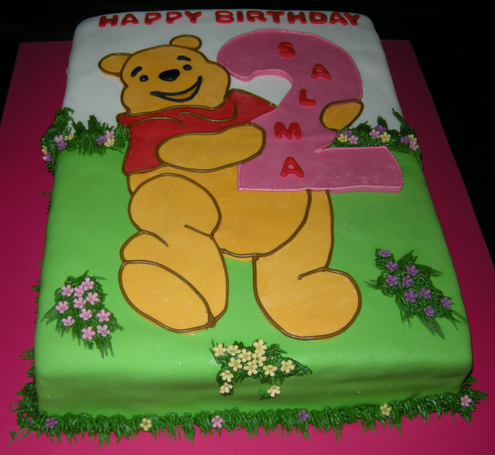 winnie the pooh birthday cakes for girls