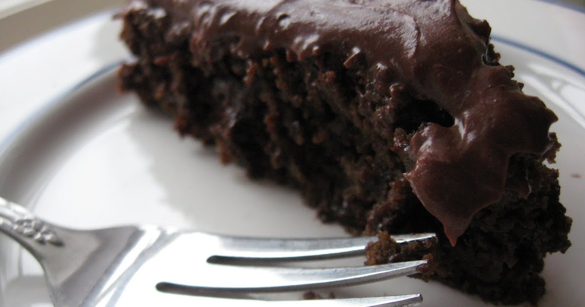 Vegan Chocolate Lemon Cake
