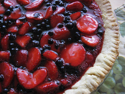 ... Forbes - Gingerlemongirl.com: Fresh Strawberry Pie (Gluten Free