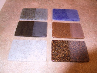 Plastic Laminate countertops and Cultured Marble countertops have been ...