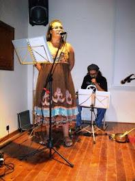Performance para el VIII Festival Internacional de poesía del Moncayo