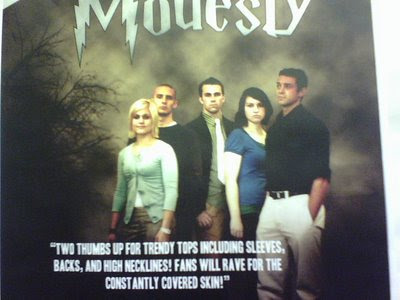 BYU honor code poster, spoof of Twilight