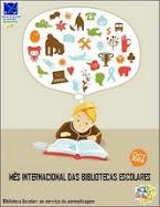Outubro - Mês Internacional das Bibliotecas Escolares