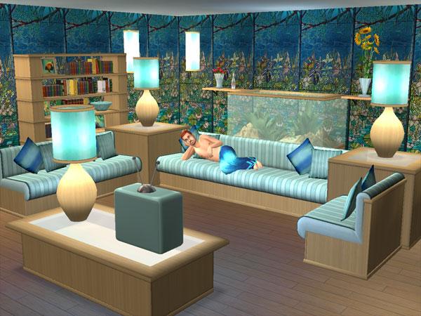 Sv downloads sala de estar surf point the sims 2 for Sala de estar sims 4