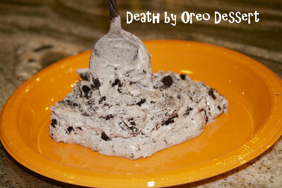 Oreo Cream Cheese Cool Whip Dessert