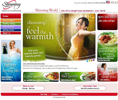Slimming world usa august 2009 Slimming world website please