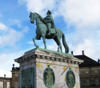 Monument of King Frederik V