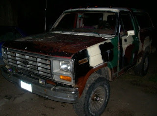 1986 Ford Bronco Camoflauge