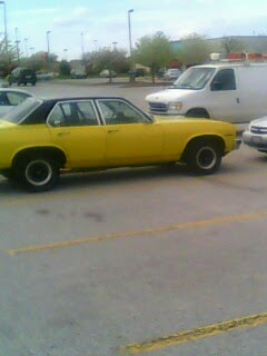 1976 Chevy Nova, 327