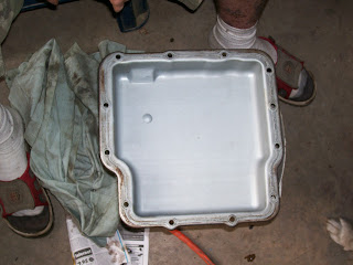 Chevette Transmission Pan