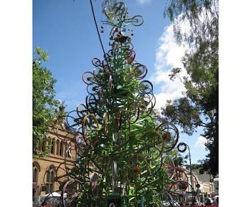 Na árvore do Natal